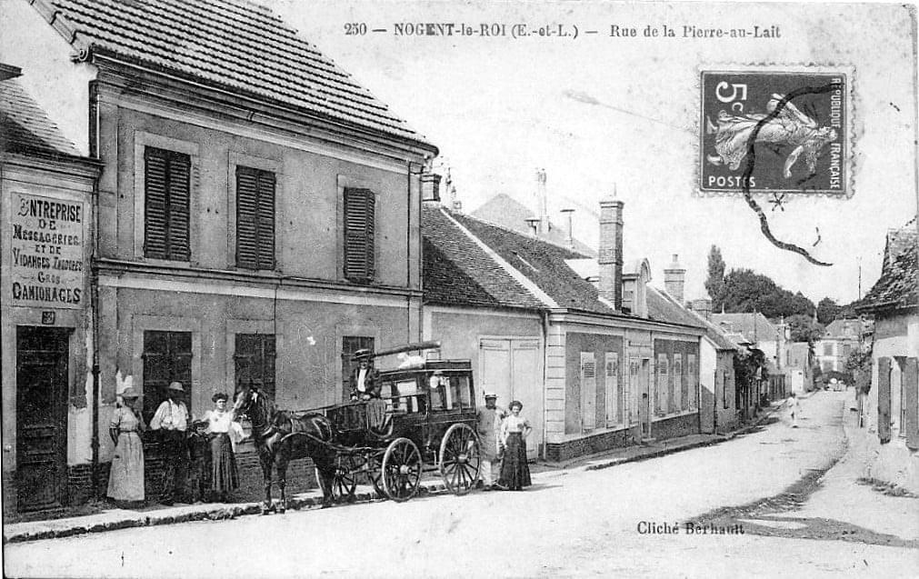 côté rue autrefois